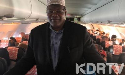 Miguna Miguna Finally Boards Plane To Nairobi