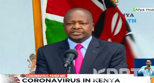 Kenyan Health Workers To Be Tested For COVID 19 Govt To Afford Them Accomodation
