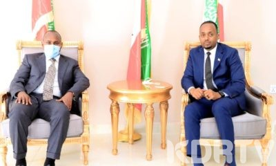 MP Junet Mohamed and Minister Liban Yousuf Osman